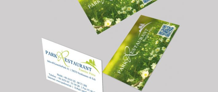 Drucksachen mit Mehrwert / Parkrestaurant